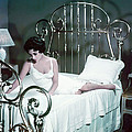 Elizabeth Taylor in Cat on a Hot Tin Roof  Poster by Silver Screen