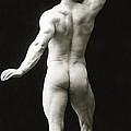 Eugen Sandow in classical ancient Greco Roman pose Poster by American Photographer