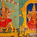 Hindu God Print by Niphon Chanthana