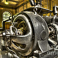 In The Ship-Lift Engine Room Print by Heiko Koehrer-Wagner