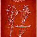 Kite Patent from 1892 Print by Aged Pixel
