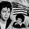 Michael Jackson American Legend Poster by Andrew Read
