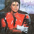 Michael Jackson Autographed reprint by J Nance