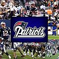 NEW ENGLAND PATRIOTS Poster by Joe Hamilton