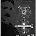 Nikola Tesla Patent from 1891 by Aged Pixel