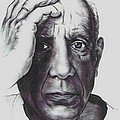 Picasso Poster by GUILLAUME BRUNO