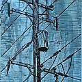 Pole with Transformer Poster by William Cauthern