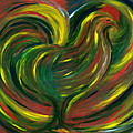 rooster Print by FANNY DIAZ