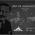 Walt Disney Patent from 1936 Print by Aged Pixel