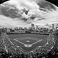 Wrigley Field  Print by Greg Wyatt