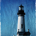Yaquina Head Lighthouse Poster by Elena Nosyreva