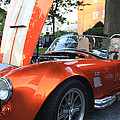 2009 Cobra Front and Side View Print by JOHN TELFER