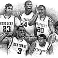 2012 NCAA Champion Wildcats Print by Tanya Crum