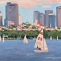 25 on the Charles Poster by Dianne Panarelli Miller