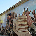 29 Palms Mural 4 Print by Bob Christopher