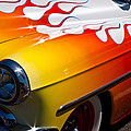 1954 Chevy Bel Air Custom Hot Rod Print by David Patterson