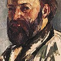 Cezanne, Paul 1839-1906. Self-portrait Poster by Everett