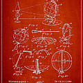 Folding School Globe Patent Drawing From 1887 Poster by Aged Pixel