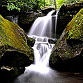 Grotto Falls Poster by Frozen in Time Fine Art Photography