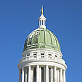 Maine State Capitol Building In Augusta Print by Keith Webber Jr