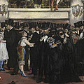 Masked Ball at the Opera Print by Edouard Manet