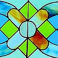 Stained Glass Window Poster by Janette Boyd