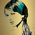 Taylor Swift Gold Series Print by Marvin Blaine