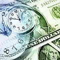 Time is money Poster by Les Cunliffe