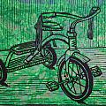 Tricycle Print by William Cauthern