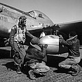 WWII: TUSKEGEE AIRMEN, 1945 Print by Granger