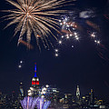4th of July fireworks Print by Eduard Moldoveanu