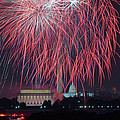4th of July Fireworks Print by Mark Whitt