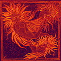 Angels at Play Print by Lyn Blore Dufty