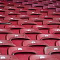 Stadium Seats Print by Frank Gaertner