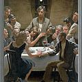 5. The Last Supper / from The Passion of Christ - A Gay Vision Print by Douglas Blanchard