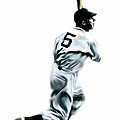 56 Joe DiMaggio Poster by Iconic Images Art Gallery David Pucciarelli