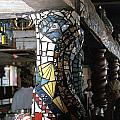 Mosaic Pillar by Charles Lucas