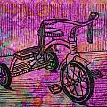 Tricycle Poster by William Cauthern