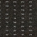 72 Names of God Poster by James Barnes