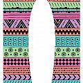 80s Fish Surfboard Print by Susan Claire