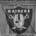 OAKLAND RAIDERS Print by Joe Hamilton