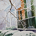 A Blanket of Snow Print by Patsy Sharpe