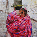A Bundle Buggy Swaddle - Peru Impression III Poster by Xueling Zou