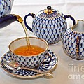 A Cup of Tea Print by Louise Heusinkveld