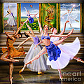 A Dance For All Seasons Poster by Reggie Duffie