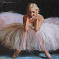 A Dancer's Ode to Marilyn Print by Anna Bain