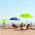A Fine Day at the Beach Print by Artist and Photographer Laura Wrede