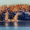 A Finland Winter Panorama Poster by Mountain Dreams
