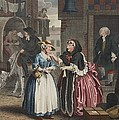 A Harlots Progress, Plate I Print by William Hogarth