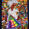 A Quilter's Dream Poster by Aisha Lumumba